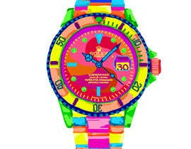 #8 for Artistic Crazy Edge On Watch Face af nonie26