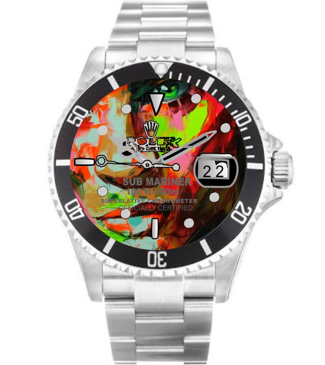 Contest Entry #                                        5                                      for                                         Artistic Crazy Edge On Watch Face