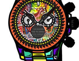 #9 para Artistic Crazy Edge On Watch Face de nishantjain21