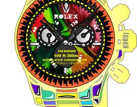 nº 10 pour Artistic Crazy Edge On Watch Face par nishantjain21