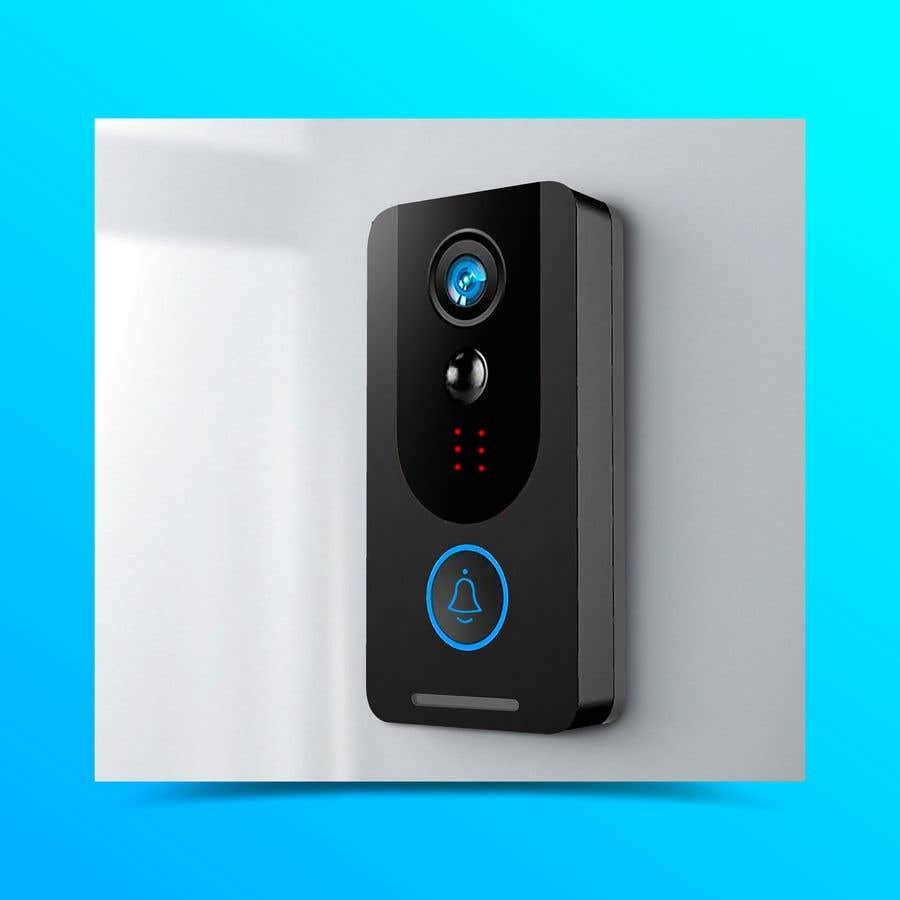 Bài tham dự cuộc thi #                                        38                                      cho                                         Design for doorbell device.