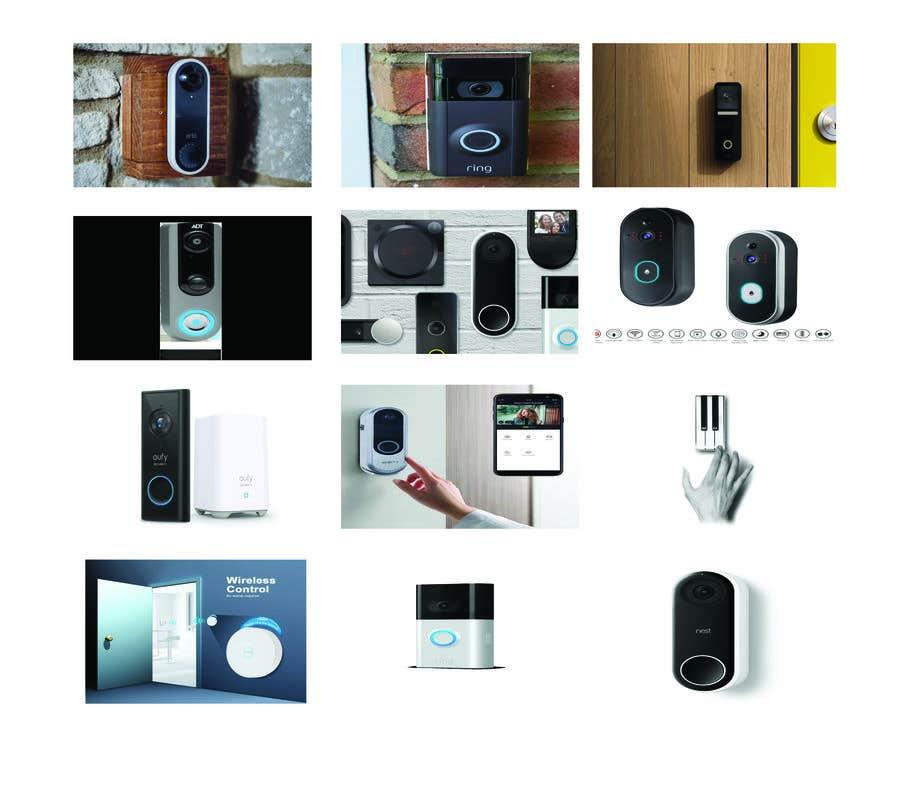 Bài tham dự cuộc thi #                                        4                                      cho                                         Design for doorbell device.