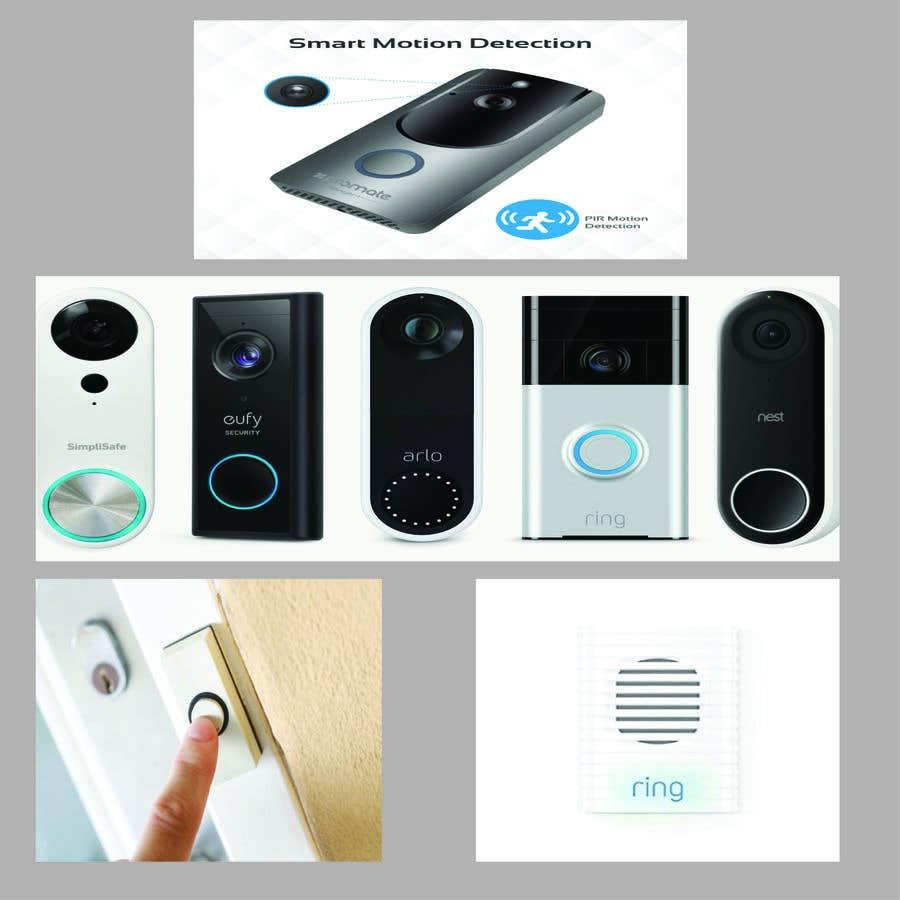 Bài tham dự cuộc thi #                                        7                                      cho                                         Design for doorbell device.