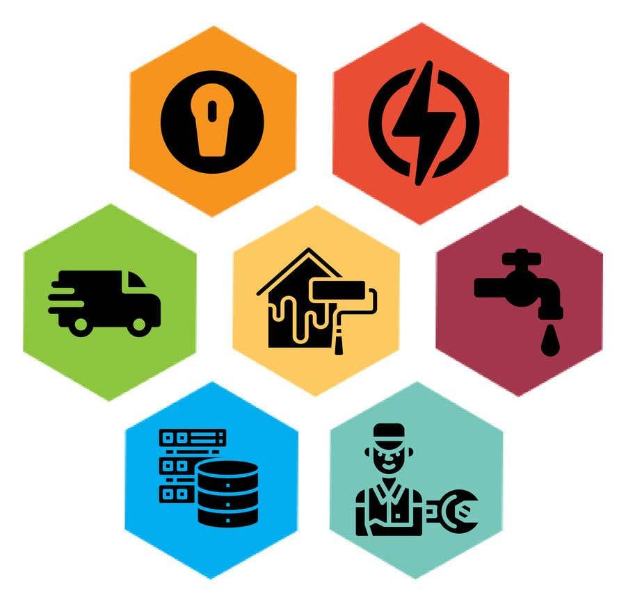 Bài tham dự cuộc thi #                                        50                                      cho                                         Logo for a multi services company