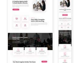 #13 untuk Design 1 landing page for a developer team oleh hepinvite