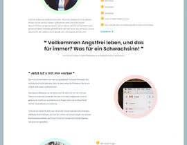 #51 untuk Design 1 landing page for a developer team oleh sharifkaiser