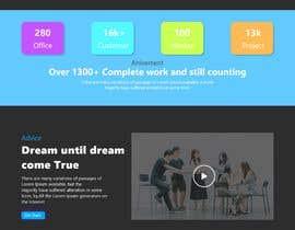 #40 pentru Design 1 landing page for a developer team de către fojlerabbi000