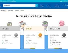 #13 for Loyalty Program Webpage Presentation af SAUHBA