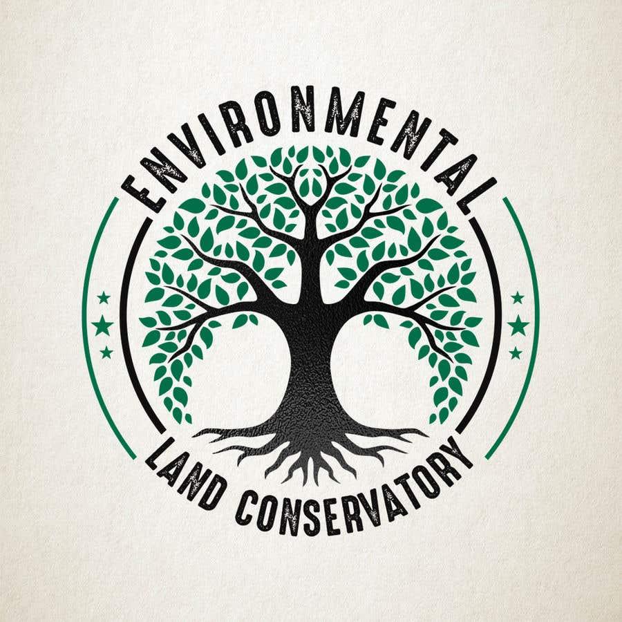 "Intrarea #                                        48                                      pentru concursul ""                                        Logo for ""Environmental Land Conservatory""                                     """