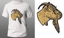 """Graphic Design Intrarea #136 pentru concursul """"Cool laid back goat head"""""""