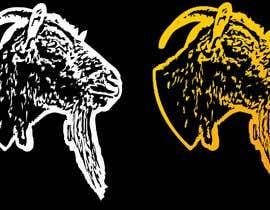 #140 pentru Cool laid back goat head de către KaimShaw
