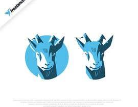 #145 pentru Cool laid back goat head de către khshovon99