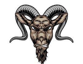 #15 pentru Cool laid back goat head de către maazabdullah696