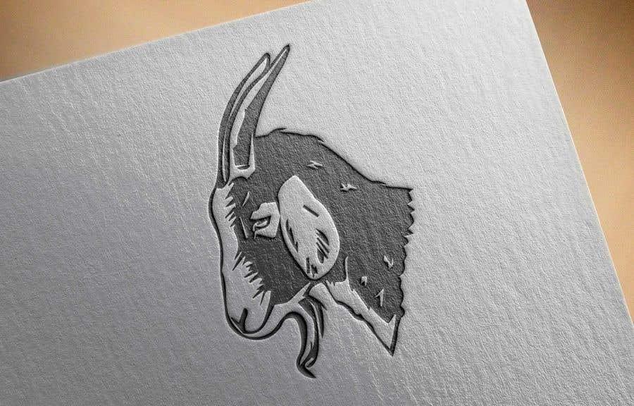 """Intrarea #                                        138                                      pentru concursul """"                                        Cool laid back goat head                                     """""""
