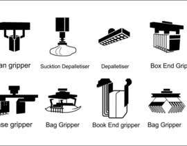 #6 cho Design some Icons for robotic machinery implements bởi lanangali