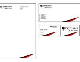 #44 untuk Stationery Design for IT Company oleh saliyachaminda