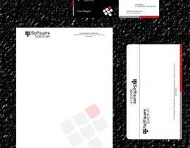 #32 untuk Stationery Design for IT Company oleh waraira81
