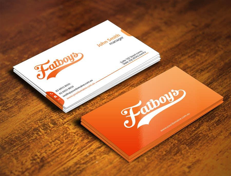 Konkurrenceindlæg #71 for Design some Business Cards for Fatboys
