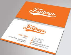 #39 for Design some Business Cards for Fatboys by HammyHS