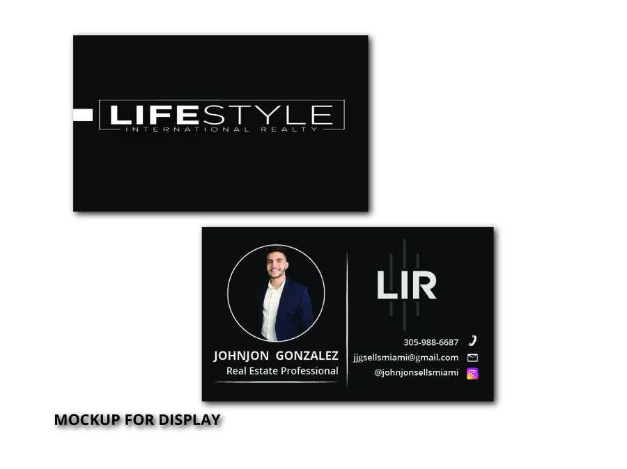 Inscrição nº                                         121                                      do Concurso para                                         Johnjon Gonzalez - Business Cards