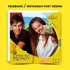 Graphic Design Kilpailutyö #27 kilpailuun Need 4 facebook / Instagram post for valentines day