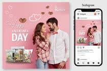 Graphic Design Kilpailutyö #55 kilpailuun Need 4 facebook / Instagram post for valentines day