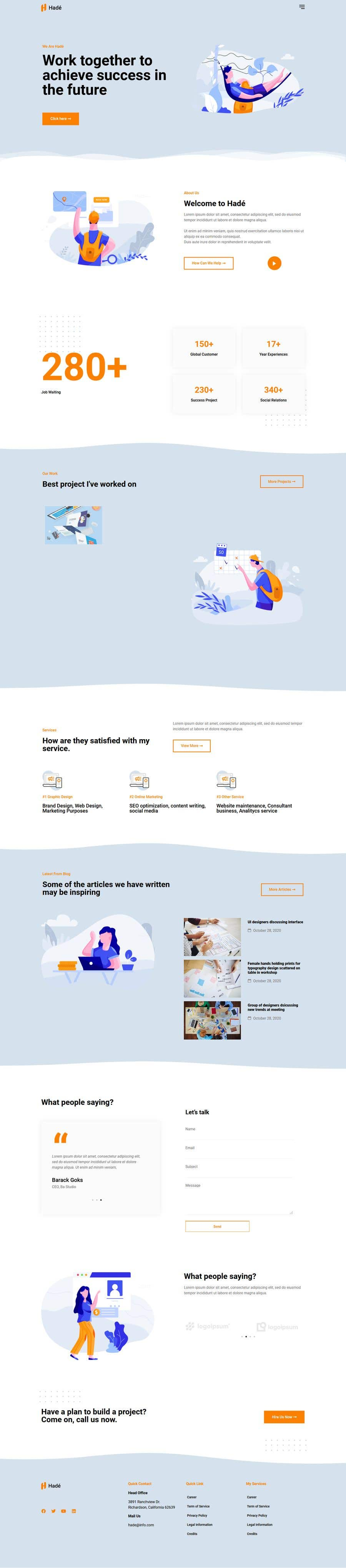 Bài tham dự cuộc thi #                                        53                                      cho                                         I need a Landing Page Website for Small Business Stores
