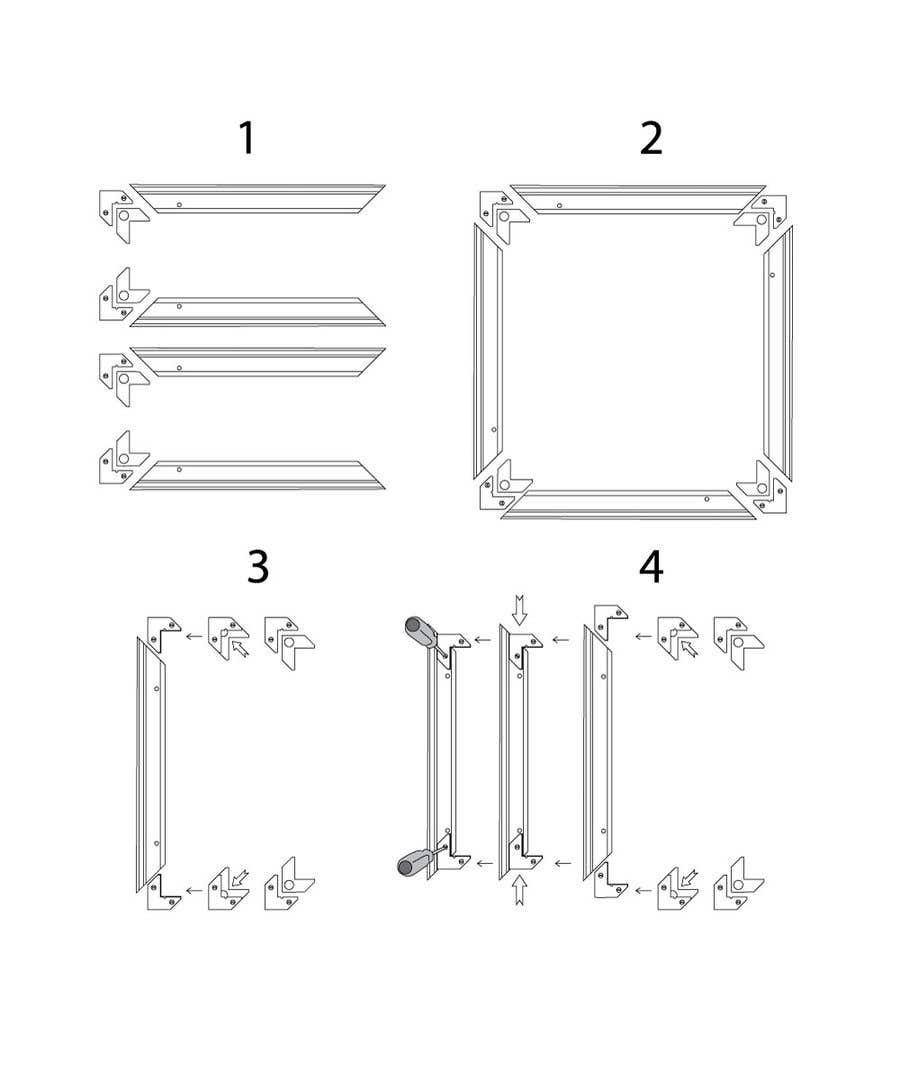 Konkurrenceindlæg #                                        10                                      for                                         Assembly Instruction for picture frames! (Drawing instruction)