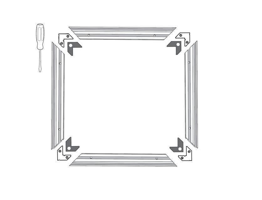 Konkurrenceindlæg #                                        12                                      for                                         Assembly Instruction for picture frames! (Drawing instruction)