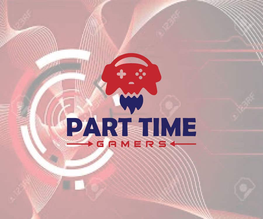 """Intrarea #                                        81                                      pentru concursul """"                                        Create a logo for a gaming channel/brand PTG: Part Time Gamers                                     """""""