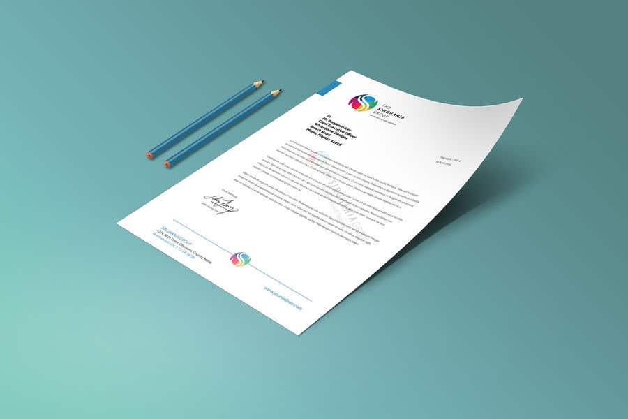 Konkurrenceindlæg #                                        4                                      for                                         A premium letterhead to be designed.