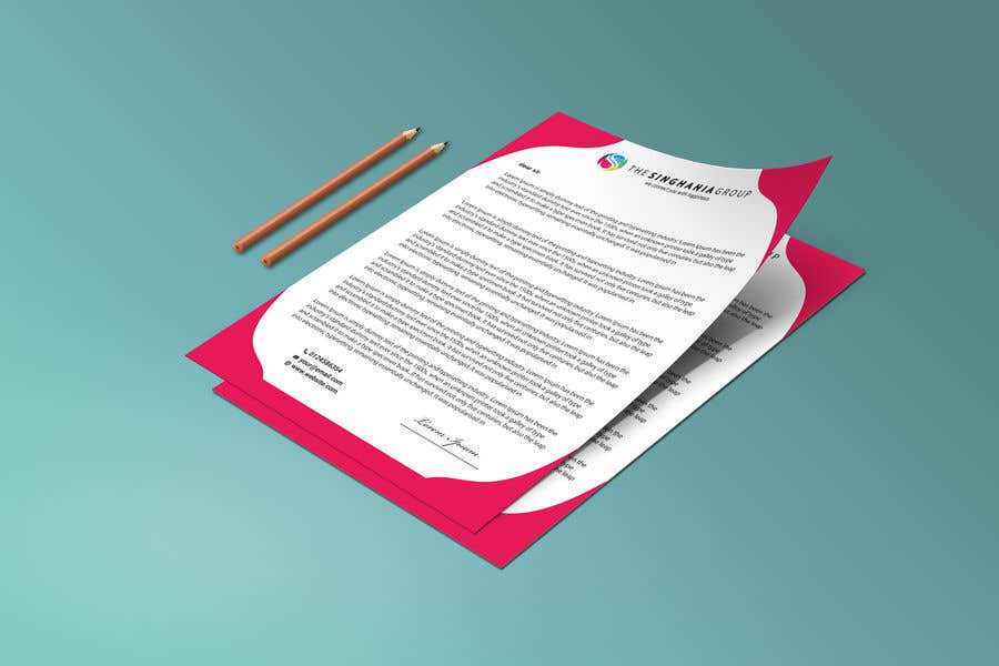 Contest Entry #                                        34                                      for                                         A premium letterhead to be designed.