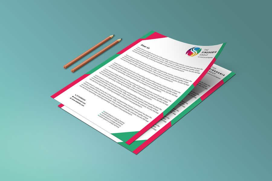 Contest Entry #                                        38                                      for                                         A premium letterhead to be designed.
