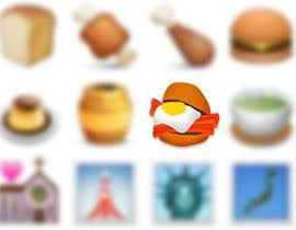 #12 for Design a Bacon and Egg roll emoticon af freedaniel2