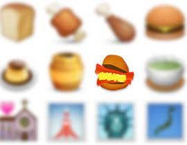 #13 for Design a Bacon and Egg roll emoticon af freedaniel2