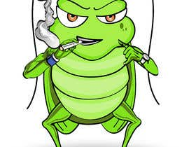 #30 pentru Roach Cartoon Character for a new website - 20/01/2021 20:06 EST de către treenagupta