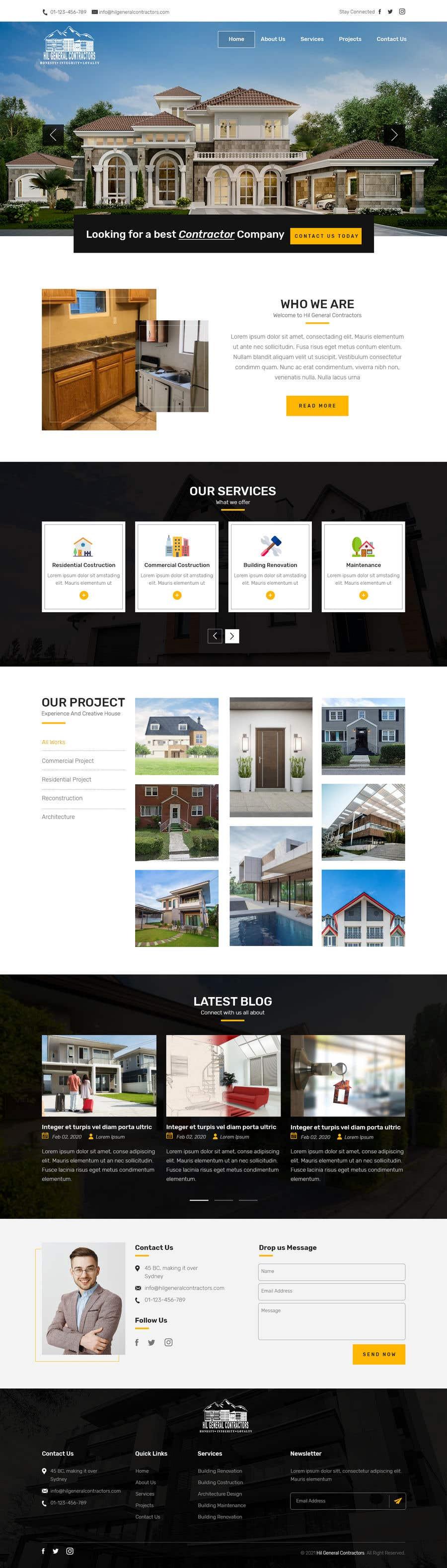 Kilpailutyö #                                        13                                      kilpailussa                                         Build me a website