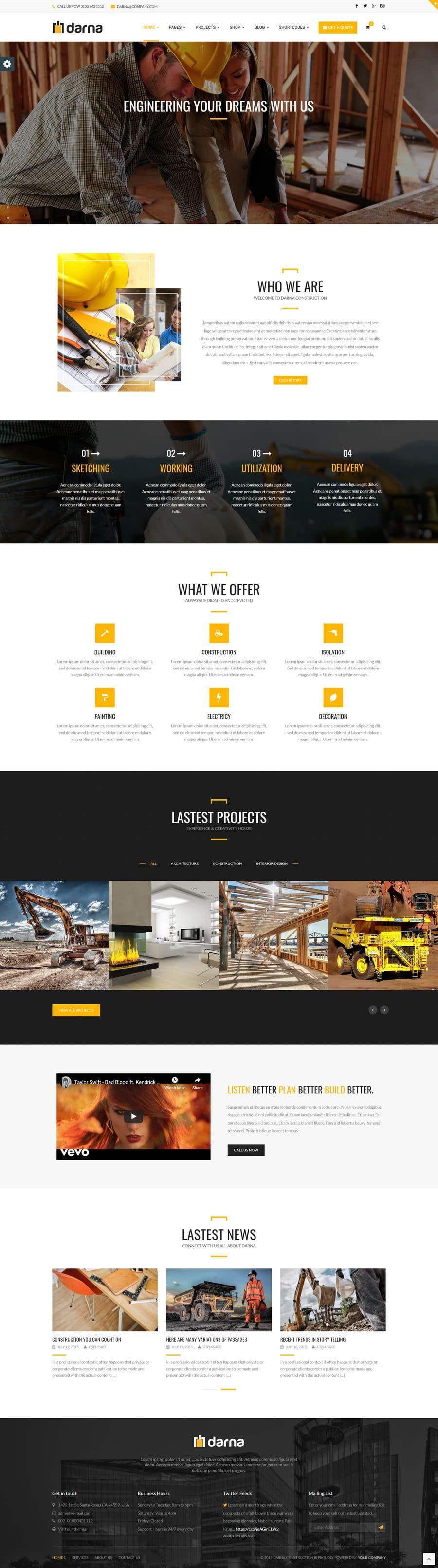 Kilpailutyö #                                        17                                      kilpailussa                                         Build me a website
