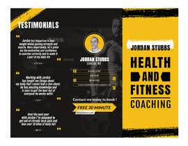 #21 for Design me a brochure for a personal training business af affandiahmad890