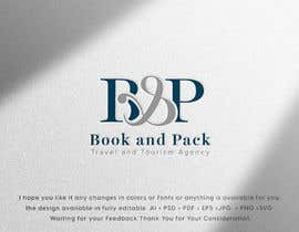 Nro 17 kilpailuun I need a logo designed. For a travel and tourism agency called (B & P ) which stands for (Book and pack). I need it to be simple , elegant and classy . All colors are fine . Avoid too many objects in the logo . käyttäjältä MAHMOUD828