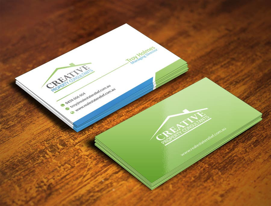 Konkurrenceindlæg #                                        94                                      for                                         Design some Business Cards for Creative Property Consultants