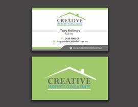 #64 for Design some Business Cards for Creative Property Consultants by angelacini