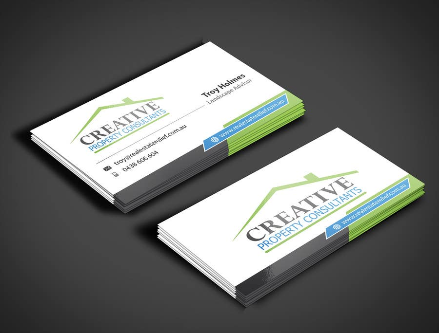 Konkurrenceindlæg #                                        88                                      for                                         Design some Business Cards for Creative Property Consultants