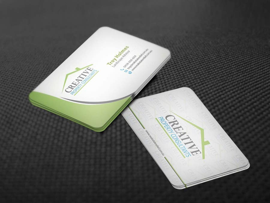 Konkurrenceindlæg #                                        103                                      for                                         Design some Business Cards for Creative Property Consultants