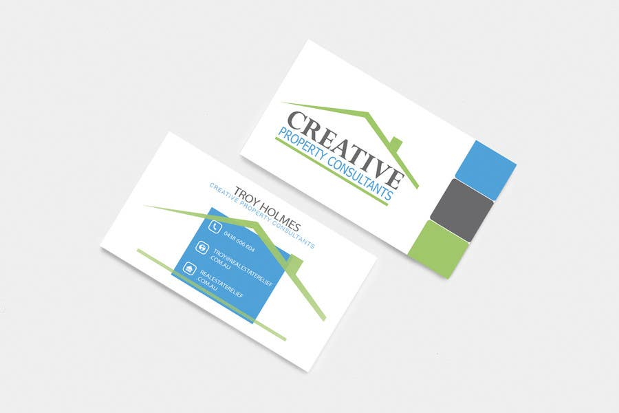 Konkurrenceindlæg #                                        132                                      for                                         Design some Business Cards for Creative Property Consultants