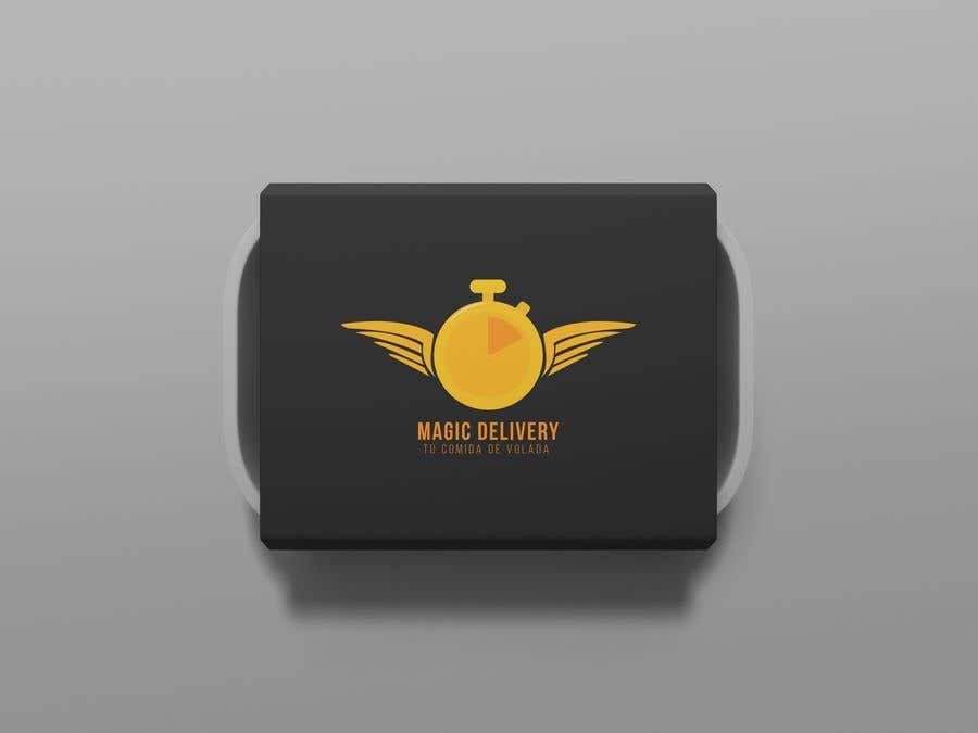 Kilpailutyö #                                        40                                      kilpailussa                                         Create a brand logo and eslogan for an Delivery App