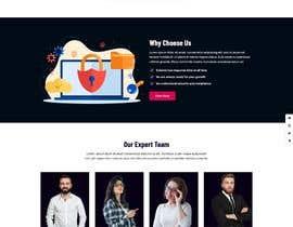 Nro 10 kilpailuun Website templates for security pentesting website käyttäjältä talhahu221