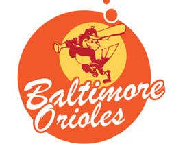 #18 for Baltimore Orioles Custom T-shirt design af the0d0ra