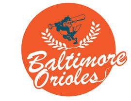 nº 21 pour Baltimore Orioles Custom T-shirt design par the0d0ra