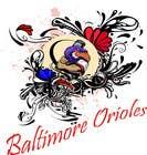 Graphic Design Inscrição no Concurso #3 de Baltimore Orioles Custom T-shirt design